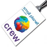 Small Planet logo Crew Tag (portrait)